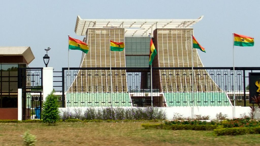 Presidential Palace, Accra, Ghana